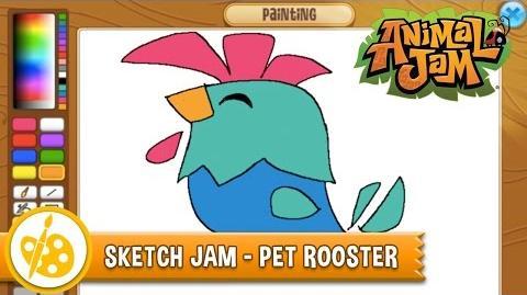 Sketch Jam - Pet Rooster
