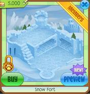 Snow fort den1