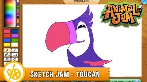 Sketch Jam - Toucan
