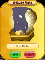 Meet-Cosmo Elephant Worn-Blanket Purple
