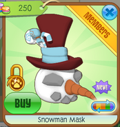 Snowman Mask1