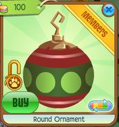 Shop Round-Ornament Dot-Green