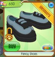 Fancy Shoes (Gray Sky-Blue)