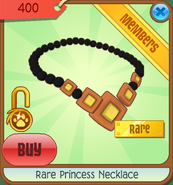 Rare princess necklace
