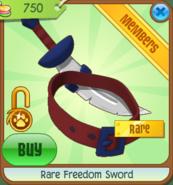 Shop Rare-Freedom-Sword