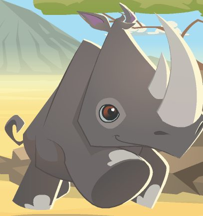 Rhinoceros animal jam wiki fandom powered by wikia - Animaljam wiki ...