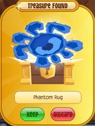 Forgotten-Desert-Prize Phantom-Rug Blue