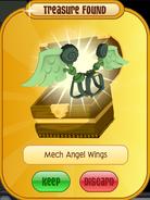 Meet-Cosmo Koala Mech-Angel-Wings Green