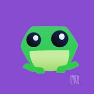 Taylor Maw Pet Frog Concept Art
