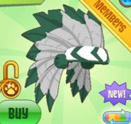 Shop Headdress Green