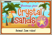 JAG Greetings From Crystal Sands