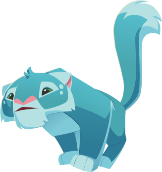Image Aqua Blue Snow Leopard Png Animal Jam Wiki