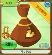 Shop Fire-Pot Orange