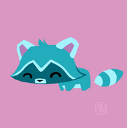 Taylor Maw Pet Raccoon Concept Art