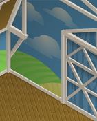 Ol-Barn Blue-Sky