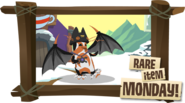 Rare Scary Bat Wings