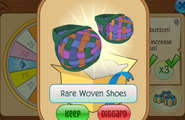 Daily-Spin-Gift Rare-Woven-Shoes
