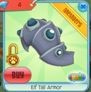 Diamond-Shop Elf-Tail-Armor Purple-Teal