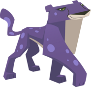 Purple Cheetah