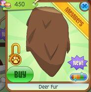 Deer Fur (Brown)
