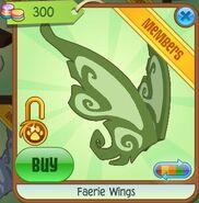 Faerie Wings (Leaf-Green)