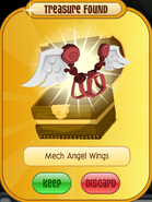 Meet-Cosmo Elephant Mech-Angel-Wings Red