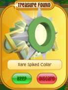 Prize Rare-SPiked-Collar Long-Green