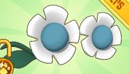 Flower Glasses Blue