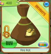 Shop Fire-Pot Brown