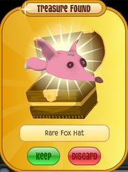 Meet-Cosmo Raccoon Rare-Fox-Hat Pink