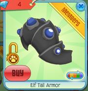 Diamond-Shop Elf-Tail-Armor Black-Blue