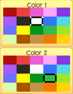 Pet monkey colors