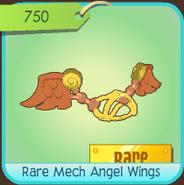 Animal Jam RareMechAngelWings