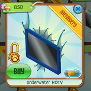 Underwater HDTV blue