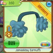 Jamaaliday Earmuffs (Blue)