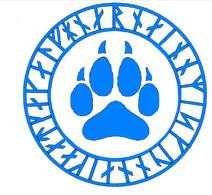 Blue Paw Magic Symbol
