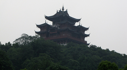 File:Hangzhou ancient Tower.jpg