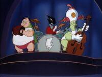 Freakazoid's music band