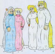 Future Marty, Minerva, Hector, and Hanna