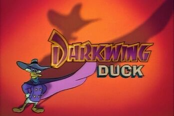 Darkwing duck animation title card
