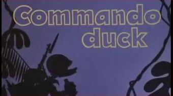 Commando Duck title card
