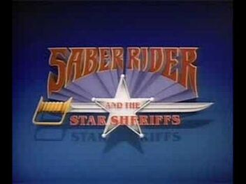 Saber Rider and the Star Sheriffs title card