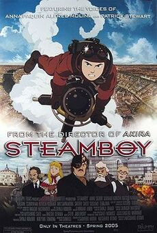 Steamboy English Release Poster