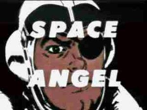 Space Angel title card