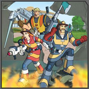 Rescueheroes tv