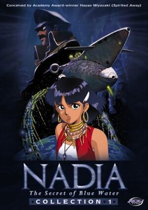 Nadia the secret of blue water collection cover