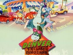 Denver the Last Dinosaur title card
