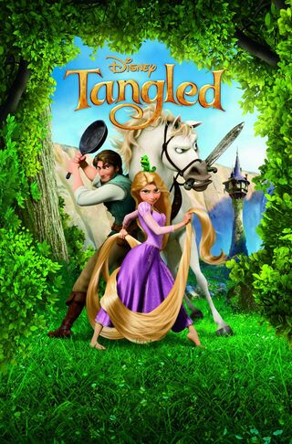 Disney's tangled disney 2010