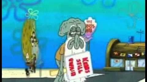 """""""Nyeh Squidward"""" for 10 hours"""