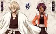 Kisuke-Urahara and-Yoruichi-Shihoin